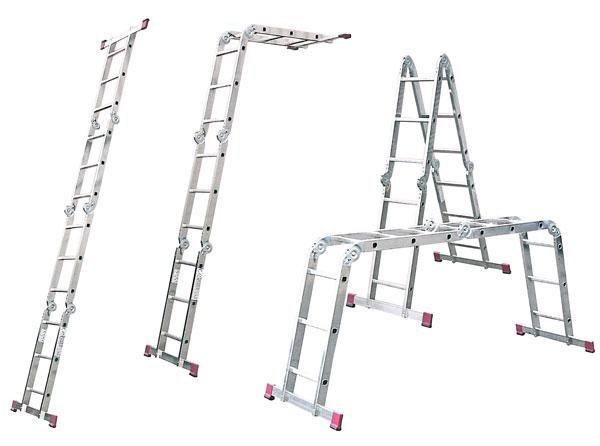 Лестница—трансформер KRAUSE CORDA 4х3
